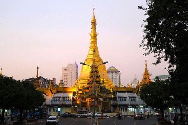 Sule Pagoda- myanmar holiday