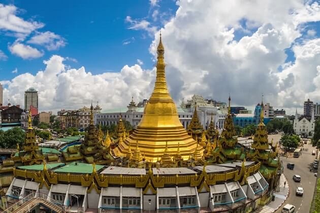 Sule Paya Pagoda - myanmar 2 week itinerary