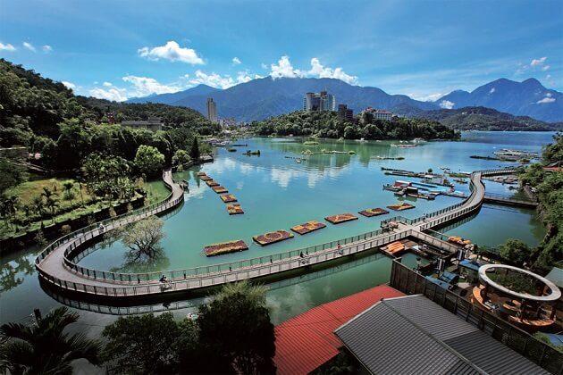 Sun Moon Lake - 2 week itinerary for taiwan