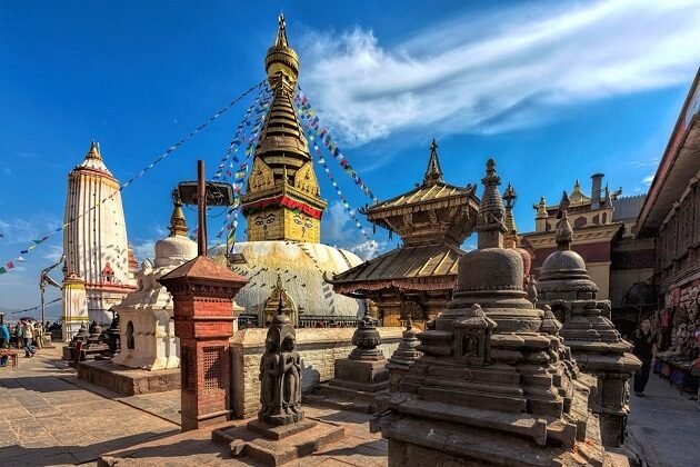 Swayambhunath - south asia vacation packages