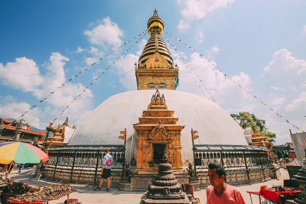 Swayambhunath - nepal tour packages
