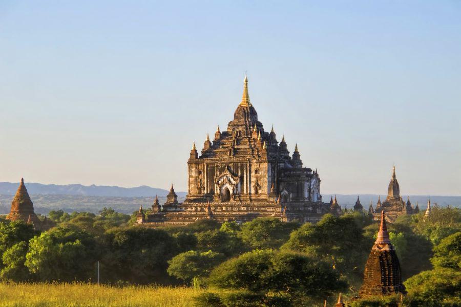 Swegugyi Temple in myanmar