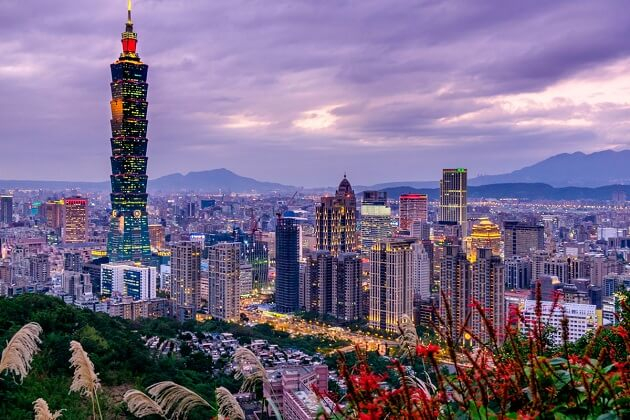Taipei 101 - taiwan 2 week itinerary