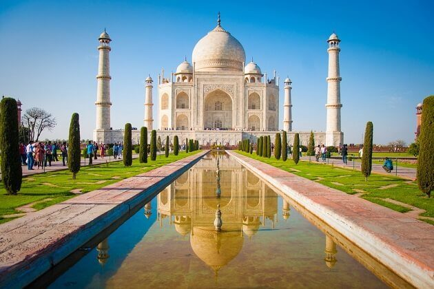 Taj Mahal - india best wildlife