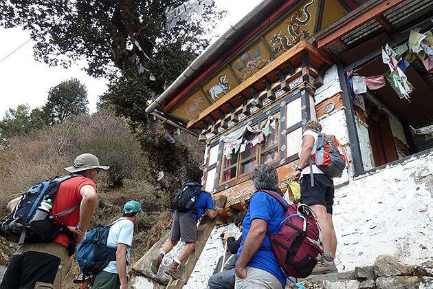 Taktsang Goemba - bhutan biking trip