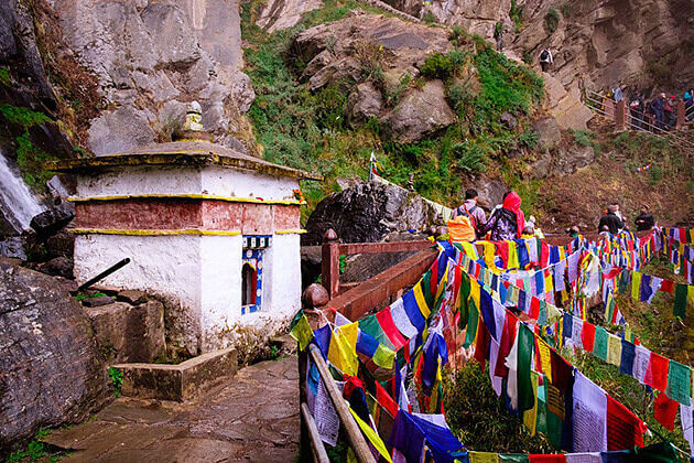 Taktsang Goemba - south aisa holiday