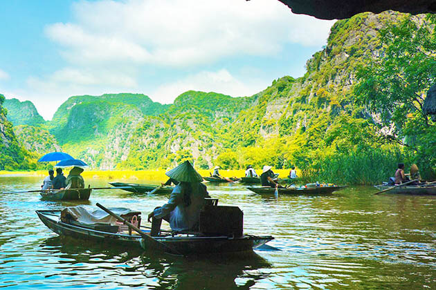 Tam Coc - 3 week indochina itinerary