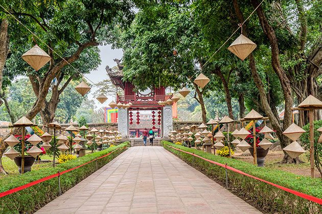Temple of Literature - best tours of indochina