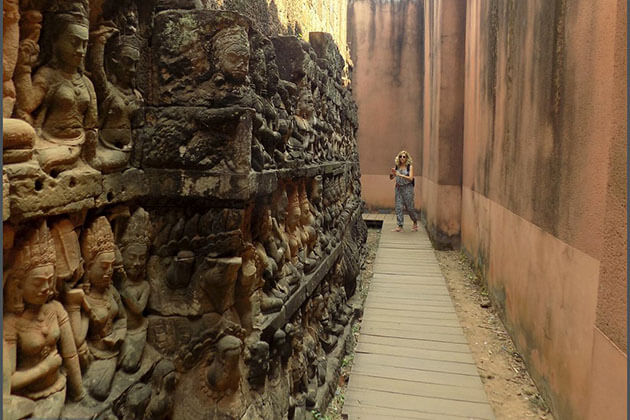Terrace of the Leper King - vietnam cambodia thailand 3 weeks