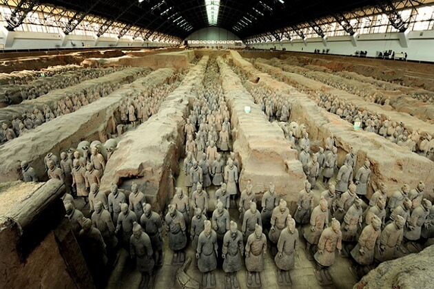 Terracotta Army - east asia travel packages
