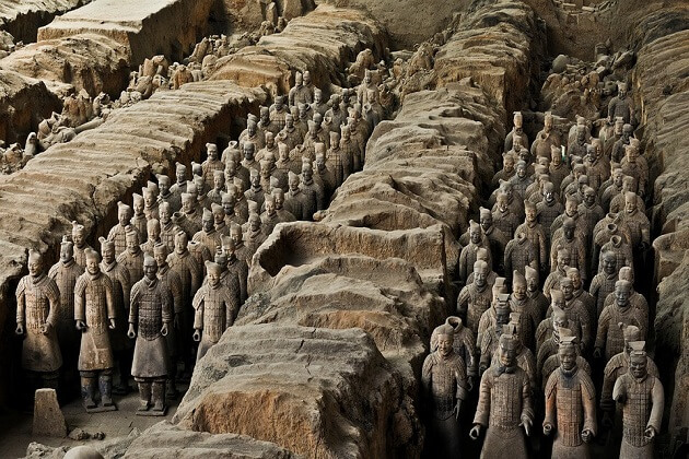 Terracotta Warriors - china 2 week holiday