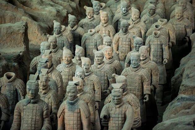 Terracotta Warriors - holiday to east asia
