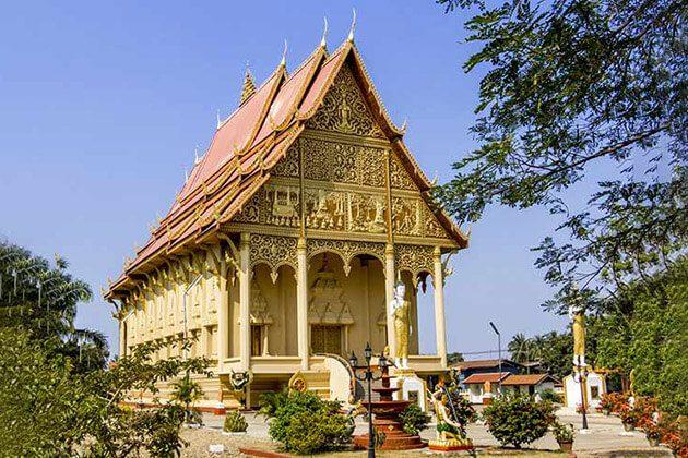 That Luang Stupa - vietnam cambodia laos myanmar itinerary