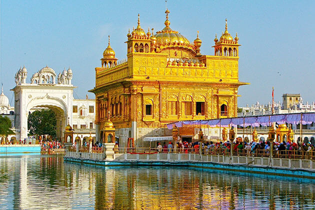 The Golden Temple of Amritsar - india vacation