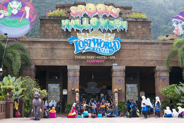 The Lost World of Tambun - malaysia tours