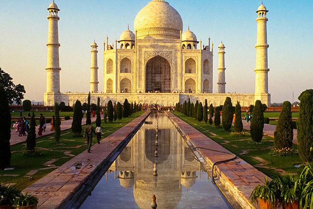 The Taj Mahal - india tours