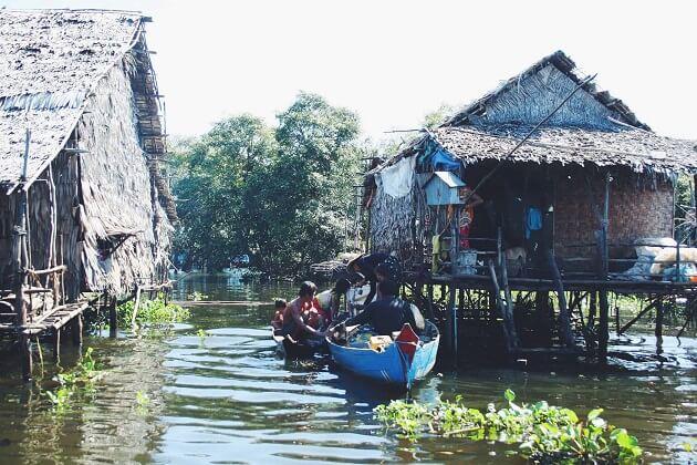 Tonle sap lake - best cambodia family tours