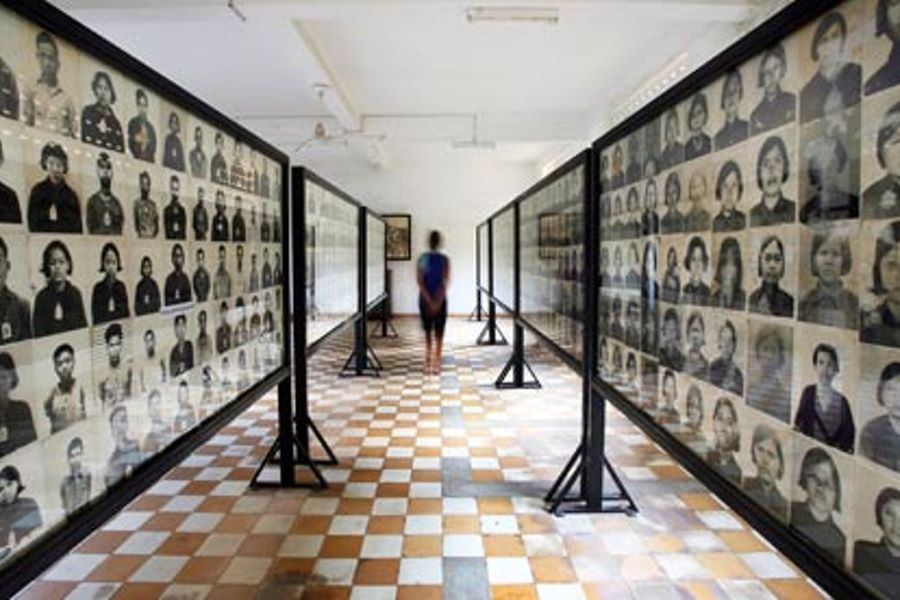 Toul Sleng Genocide Museum in cambodia