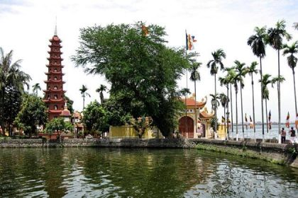 Tran Quoc Pagoda - best of indochina travel