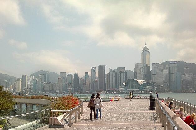 Tsim Sha Tsui East Promenade - Hong kong tour packages