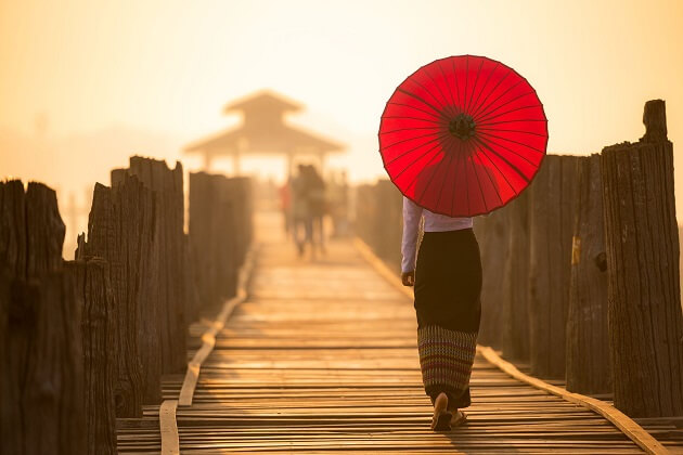 U Bein Bridge - myanmar vacation packages