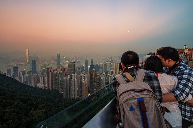 Victoria Peak - hong kong tour