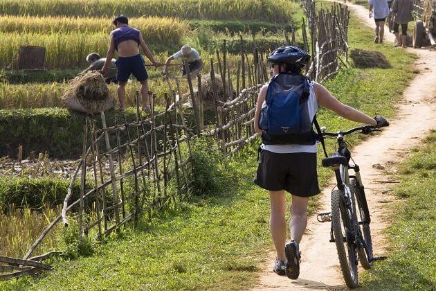 Viengxay - laos cycling itinerary