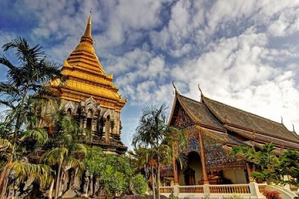 Wat Chiang Man - thailand 2 week holiday