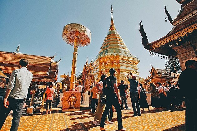 Wat Doi Suthep - Southeast Asia travel packages
