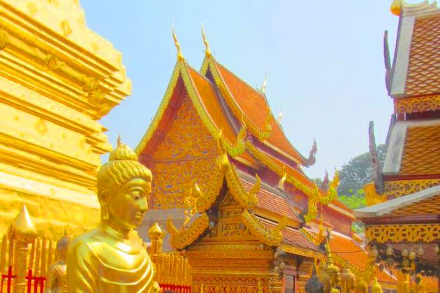 Wat Doi Suthep in thailand