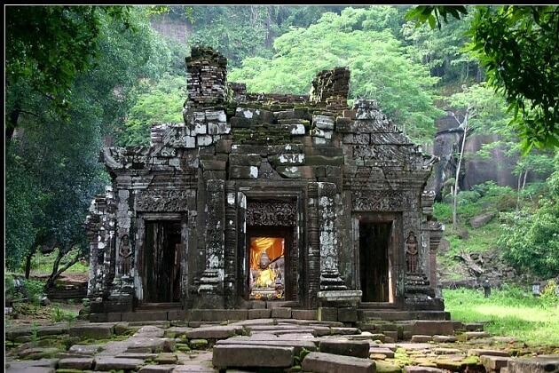Wat Phou temple - best laos vacation