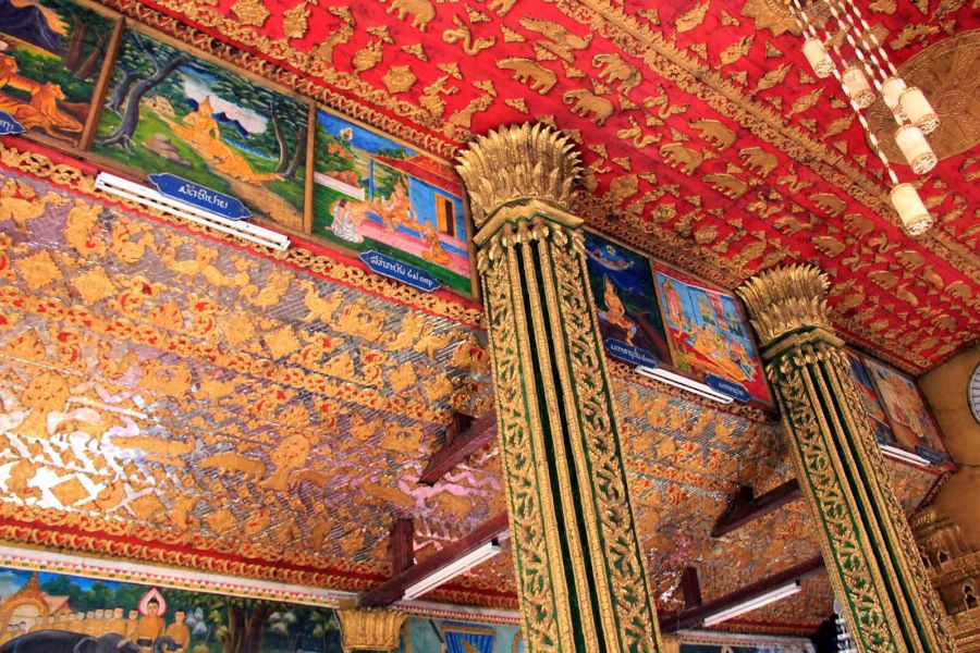 Wat Simuang in Laos