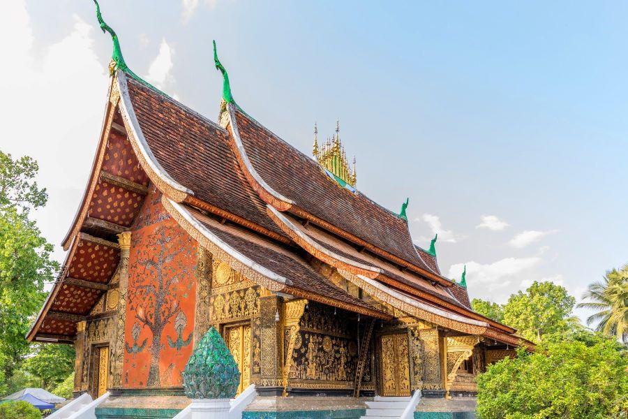 Wat Xieng Thong in luang prabangWat Xieng Thong in luang prabang