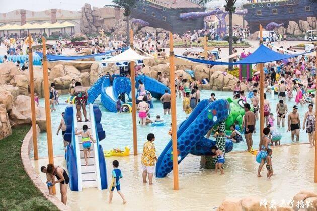 Water Magic Cube Amusement Park - best family tour china