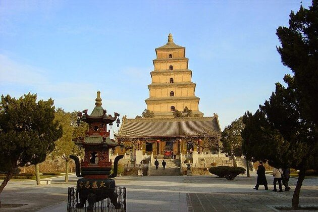 Wild Goose Pagoda - east asia holiday packages