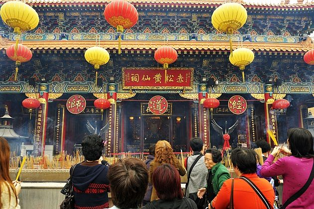 Wong Tai Sin Temple - best east asia tours