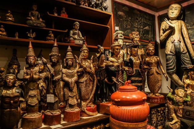 Wood Carvings - best laos souvenirs