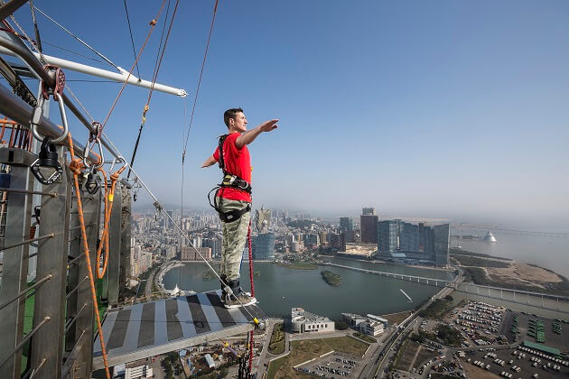 World Highest Bungy Jump - travel to east asia