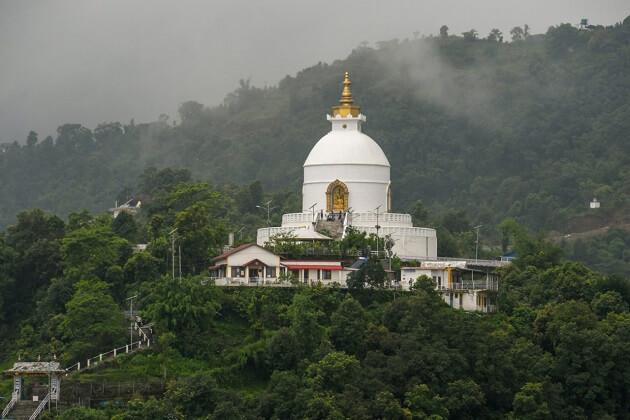 World Peace Pagoda - nepal 2 week trip