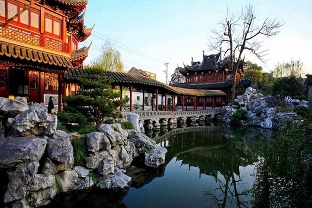 Yu yan garden - trip to east asia