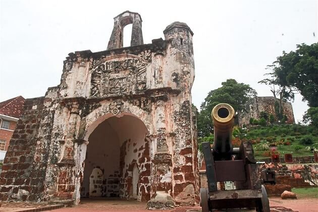 a famosa fortress - malaysia classic vacation