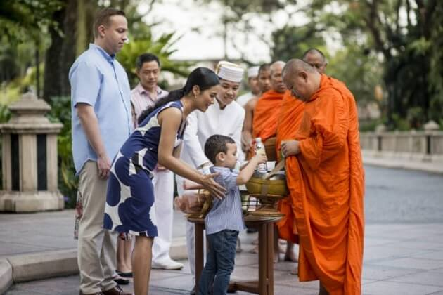 alms giving - southeast asia tour package