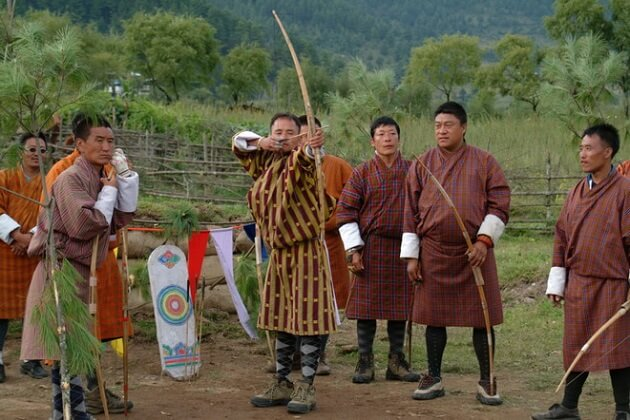 archery - best bhutan vacation packages