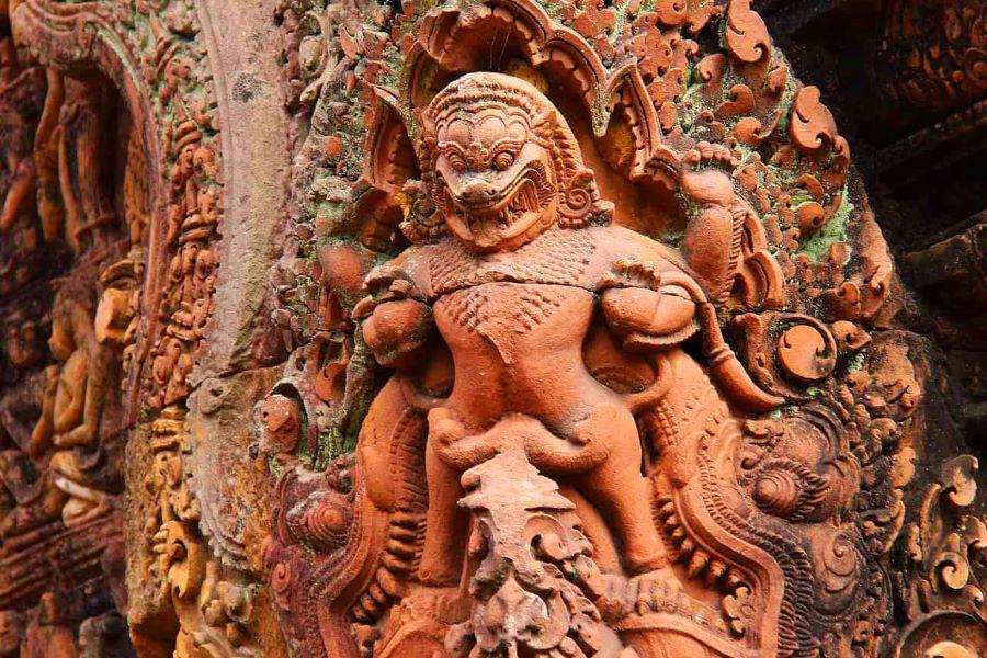banteay srei in cambodia