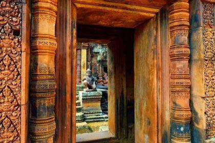 banteay srei siem reap cambodia