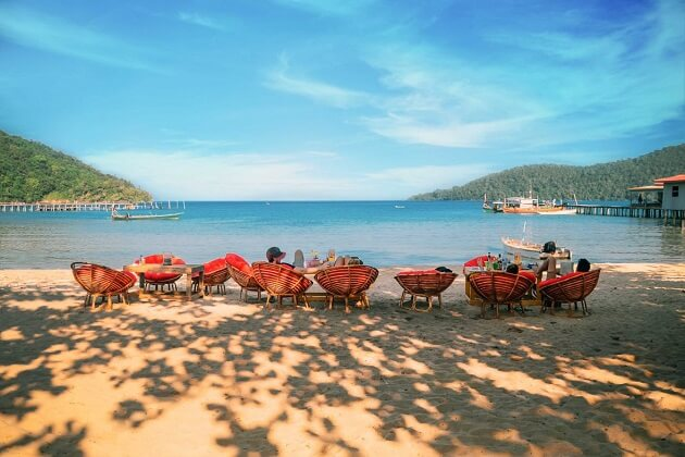 beach - attractions at cambodia