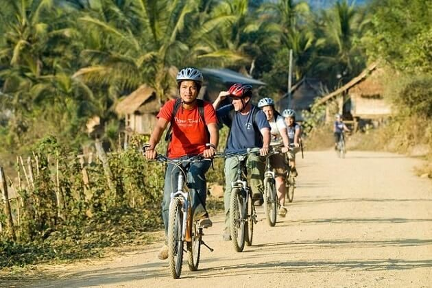 best laos cycling tours