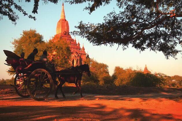 summer - good season to travel to Myanmar