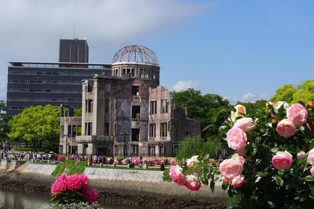 bomb dome - japan vs south korea vs taiwan