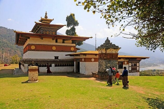 chimi lhakhang - best bhutan vacation